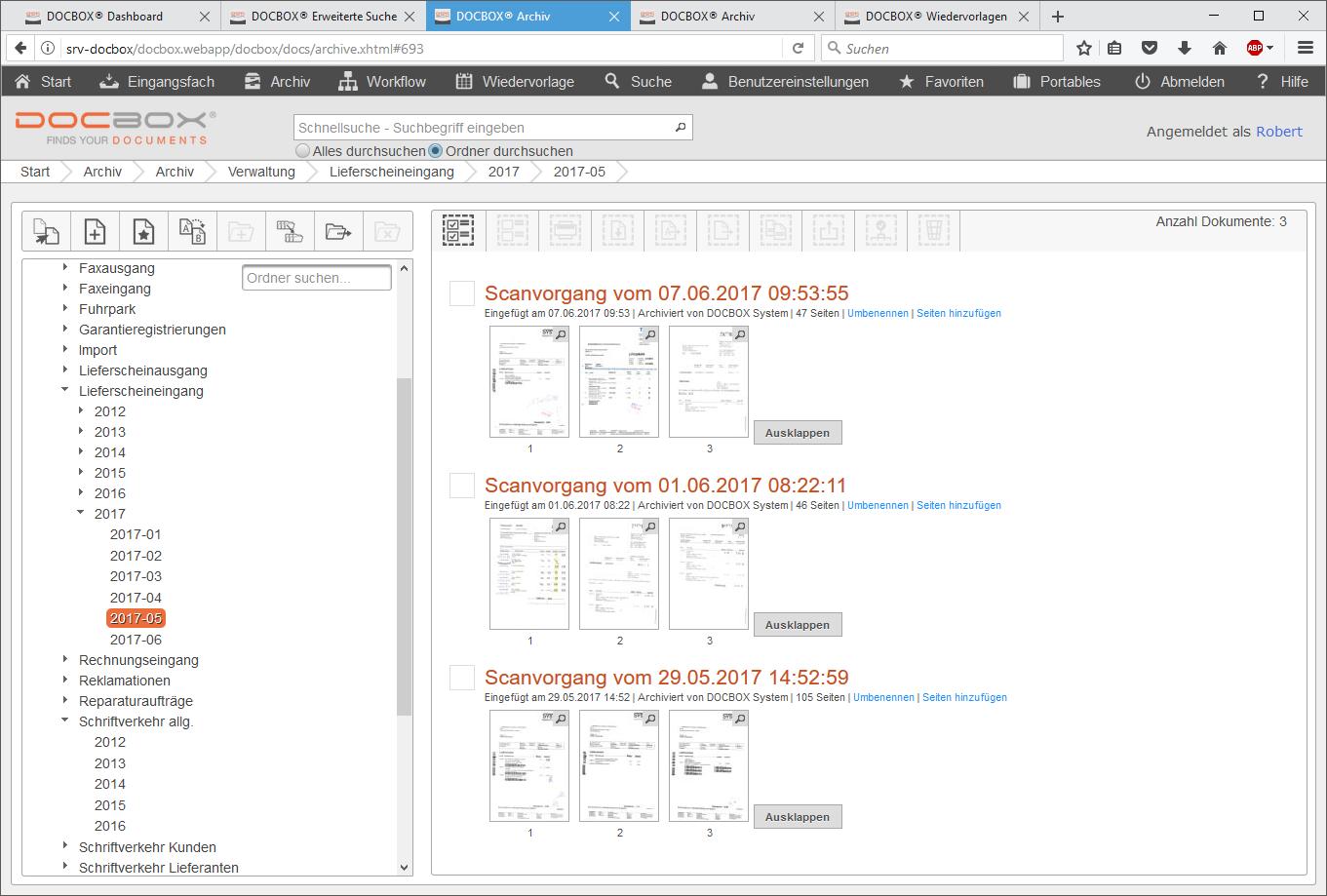 DOCBOX® Dokumentenmanagementsystem